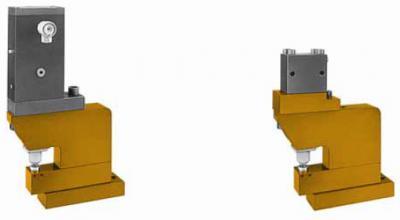 Pneum.- und Hydr.-Profillocheinheiten, einfach- und doppeltwirkend